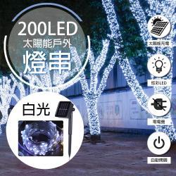 WIDE VIEW 20米200燈太陽能裝飾燈串(XLTD-200W)