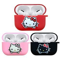 買一送一【正版授權】Sanrio三麗鷗 Hello Kitty AirPods Pro專用矽膠保護套