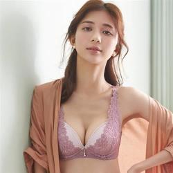 【Ladies 蕾黛絲】費洛蒙V真水 B-C罩杯內衣 紫丁香