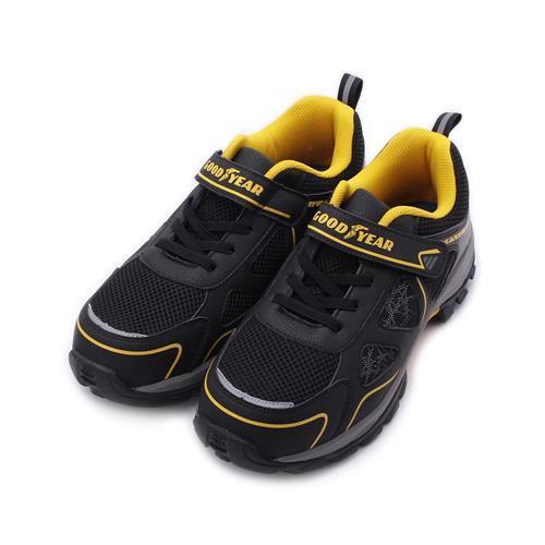 GOODYEAR極光魔鬼氈鋼頭安全鞋黑黃GAMX03940男鞋鞋全家福