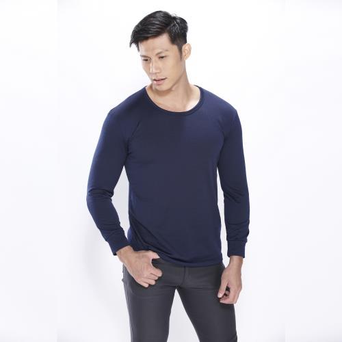 LIGHT&DARK熱能瞬暖百搭男圓領衣/
