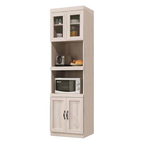 Boden-曼蒂2尺收納高餐櫃/碗盤置物櫃/電器櫃