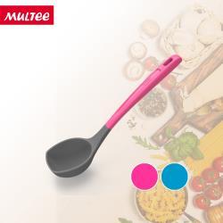 MULTEE摩堤  矽晶迷你烹飪工具-迷你湯勺(愛戀桃/宇宙藍)