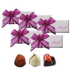 Diva Life 比利時巧克力3入 (經典禮盒)五盒組