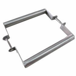 D38-S 雙支 15公分圓管小把手 不鏽鋼 5/8 橫拉把手 拉手 手把 門把 取手 引手 手取 DIY