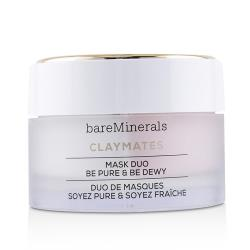 BareMinerals 淨肌滋養礦物泥面膜Claymates Be Pure  Be Dewy Mask Duo 58g/2.04oz