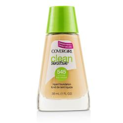 Covergirl 粉底液Clean Sensitive Liquid Foundation - # 545 Warm Beige 30ml/1oz