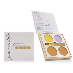 愛芮兒珍 4色遮瑕盤(附刷子) Corrective Colors Kit (4x 遮瑕膏 + 1x 刷具) 9.9g/0.35oz