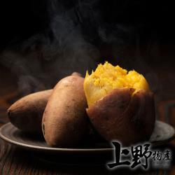 (烤肉任選899出貨)【上野物產】烤肉用 熟凍冰烤地瓜 (500g±10%/包)x1包