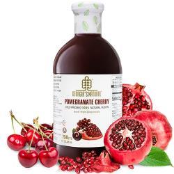 Georgia紅石榴櫻桃原汁(750ml/瓶) 非濃縮還原果汁 x8瓶