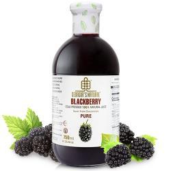 Georgia黑莓原汁(750ml/瓶) 非濃縮還原果汁 x8瓶