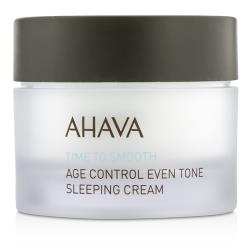 愛海珍泥 礦采無瑕淨白肌密霜Time To Smooth Age Control Even Tone Sleeping Cream