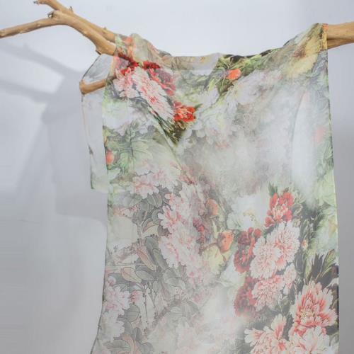 闕蘭絹奢華100%蠶絲手工訂製絲巾/