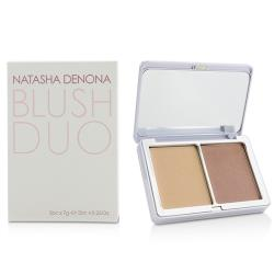 Natasha Denona 雙色腮紅Blush Duo - # 15 (02 Toutou  01 Sheer Nude) 2x7g/0.25oz