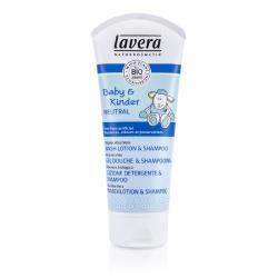 萊唯德 有機嬰幼兒2合一洗髮沐浴露Baby  Kinder Neutral Wash Lotion  Shampoo 200ml/6.6oz