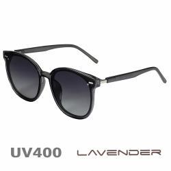 Lavender 偏光太陽眼鏡 中性網紅圓框 科技灰 19003 C2