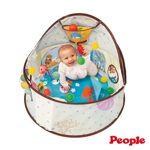日本People-360度趣味遊戲池(附小球)(6個月以上~)/