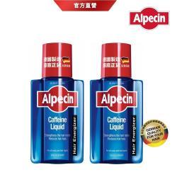 【Alpecin】咖啡因頭髮液 200mlx2 (加贈 頭皮按摩梳)