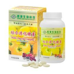 【長庚生技】綜合消化酵素錠90粒/瓶X12入組