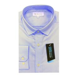 【MURANO】COOLMAX系列長袖修身襯衫