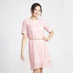 蘭陵VIP訂製手工蕾絲洋裝(2入)I03-17