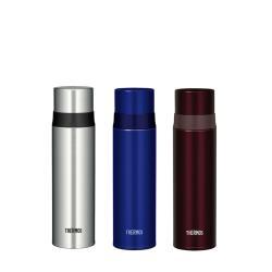 膳魔師500cc不鏽鋼真空保溫瓶BL藍色FFM-500-BL/BW棕色FFM-500-BW/SBK不鏽鋼色FFM-500-SBK