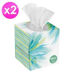 Kleenex頂級柔滑添加椰油蘆薈盒裝面紙三層85抽 x2盒