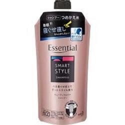 日本 花王kao Essential亮澤抗毛燥洗髮乳 補充包340ml