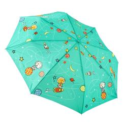 RAINSTORY雨傘-火箭狗狗(青)抗UV個人自動傘