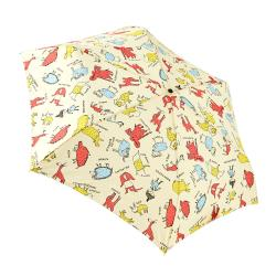 RAINSTORY雨傘-幻想動物園(米)抗UV手開輕細口紅傘