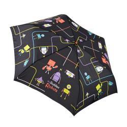 RAINSTORY雨傘-機器人(黑)抗UV手開輕細口紅傘