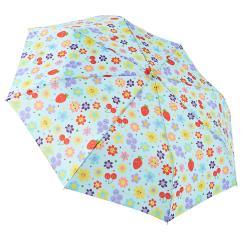RAINSTORY雨傘-水果花朵(藍)抗UV加大自動傘