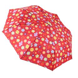 RAINSTORY雨傘-水果花朵(紅)抗UV加大自動傘