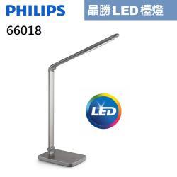 【Philips 飛利浦】晶勝 LED檯燈 66018