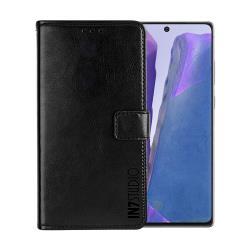 IN7 瘋馬紋 Samsung Galaxy Note 20 (6.7吋) 錢包式 磁扣側掀PU皮套 吊飾孔 手機皮套保護殼