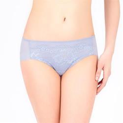【Triumph 黛安芬】舒適美型系列 無痕中腰平口內褲 M-EL 紫藕色