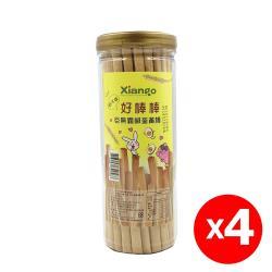 【匠菓子】巨無霸香濃酥脆牛奶棒(鹹蛋黃口味)-4罐組