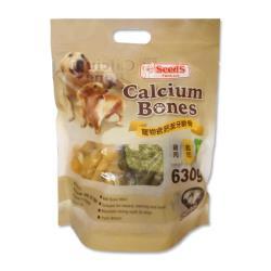 Seeds 惜時 寵物含鈣潔牙嚼骨 630公克(雞肉/起司/綠茶口味)