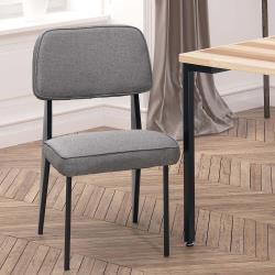HD 格瑞斯灰布餐椅
