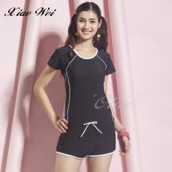 泳之美品牌 時尚二件式短袖泳裝 NO.288718