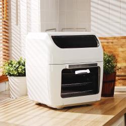 LazySusan 氣炸烤箱 典雅白