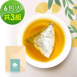 i3KOOS-金萱檸香綠茶(可冷泡)-隨享包3組(6包入)