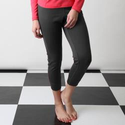 【Vital Salveo 紗比優】鍺能量女中空快乾機能保暖長褲/三色(女保暖褲/刷毛保暖褲/-台灣製造)