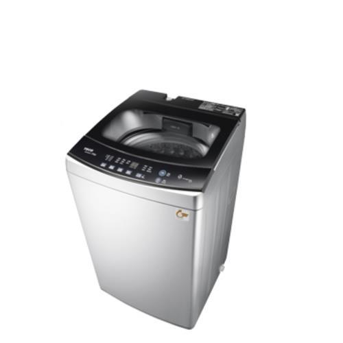 東元10公斤變頻洗衣機晶鑽銀W1068XS/