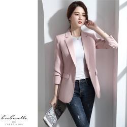【GF 快時尚】韓系氣質修身西裝外套 (M~2XL)