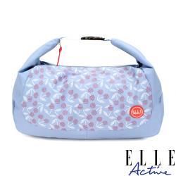 【ELLE Active】法式櫻桃系列-肩背側背兩用包-深藍色