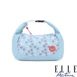 【ELLE Active】法式櫻桃系列-手提斜背兩用包-淺藍色