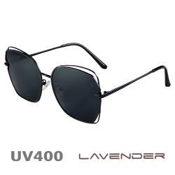 Lavender 偏光片太陽眼鏡 超輕不規則雷朋款 幻影黑 8065 C4-1