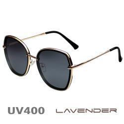 Lavender 偏光片太陽眼鏡 名媛時尚款 高雅黑 8080 C4