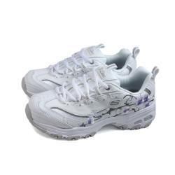 SKECHERS DLites 運動鞋 女鞋 白色 花卉 149239WLV no227